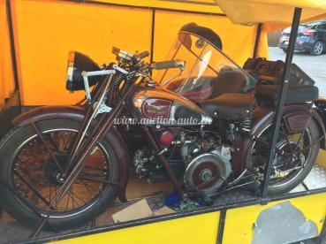 Guzzi 500 Side-car