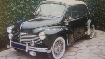 Renault 4 CV Découvrable Usine